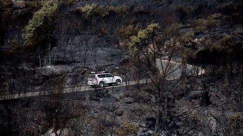 Incendio forestal de Cualedro