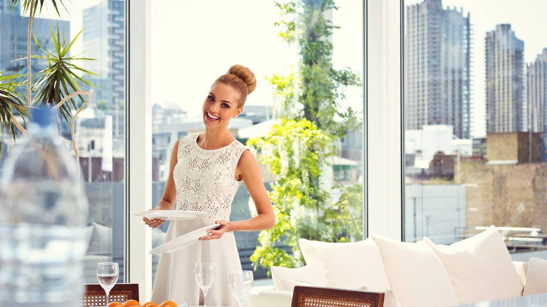 Cuando no puedes explotar tu talento fuera de casa, lo tienes que hacer en el hogar. (iStock)