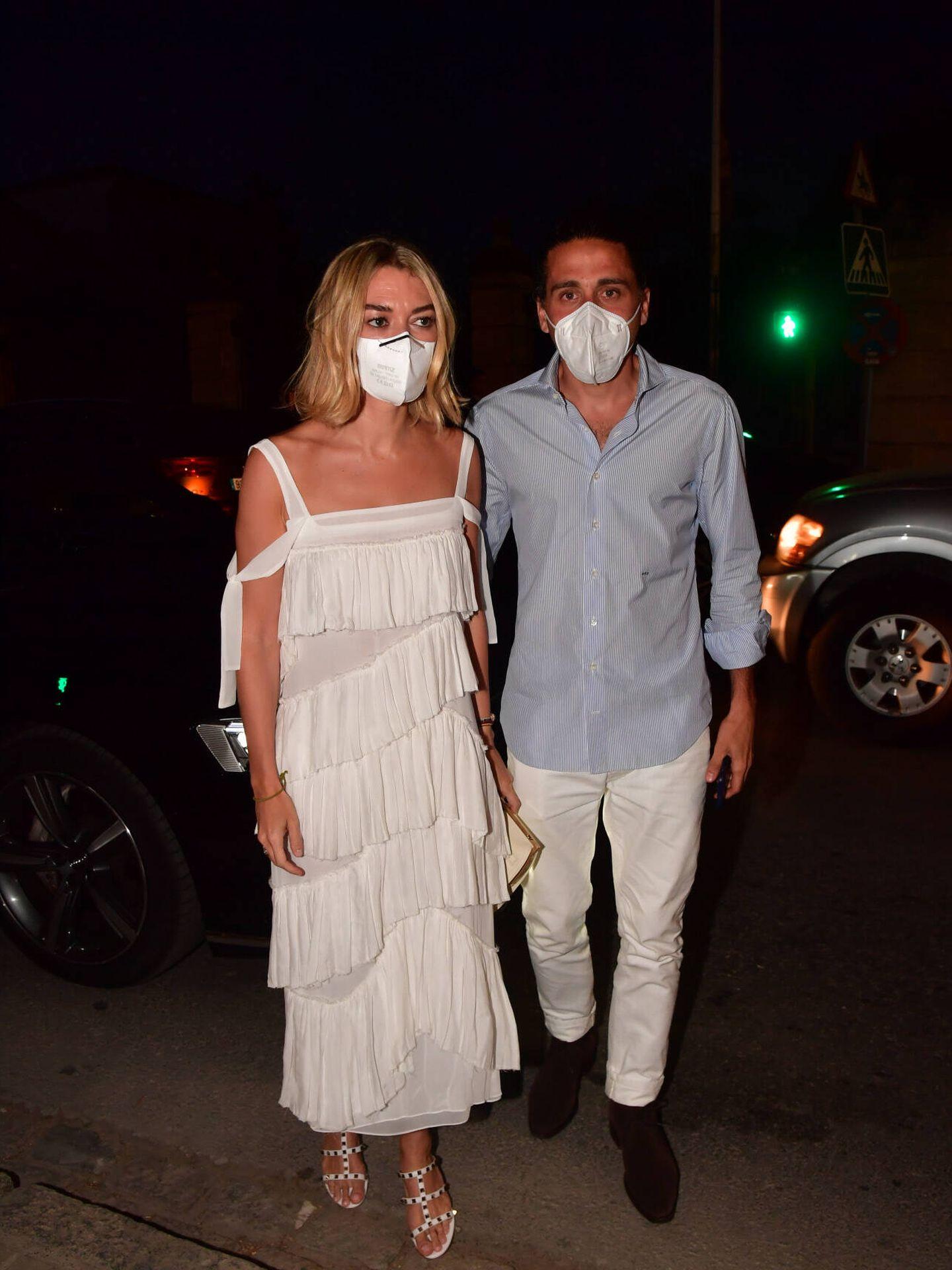 Marta Ortega y Carlos Torretta, en Jerez. (Gtres)