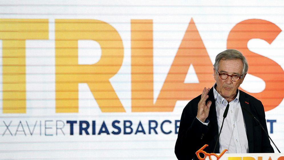 Foto: El candidato de CiU a la alcaldía de Barcelona, Xavier Trias. (EFE)