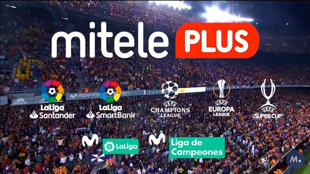 Foto: Mitele renueva la oferta ofreciendo fútbol en su plataforma OTT. (Mediaset España)