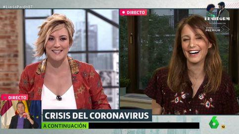 La 'pullita' de Levy a Cristina Pardo al terminar su entrevista en La Sexta