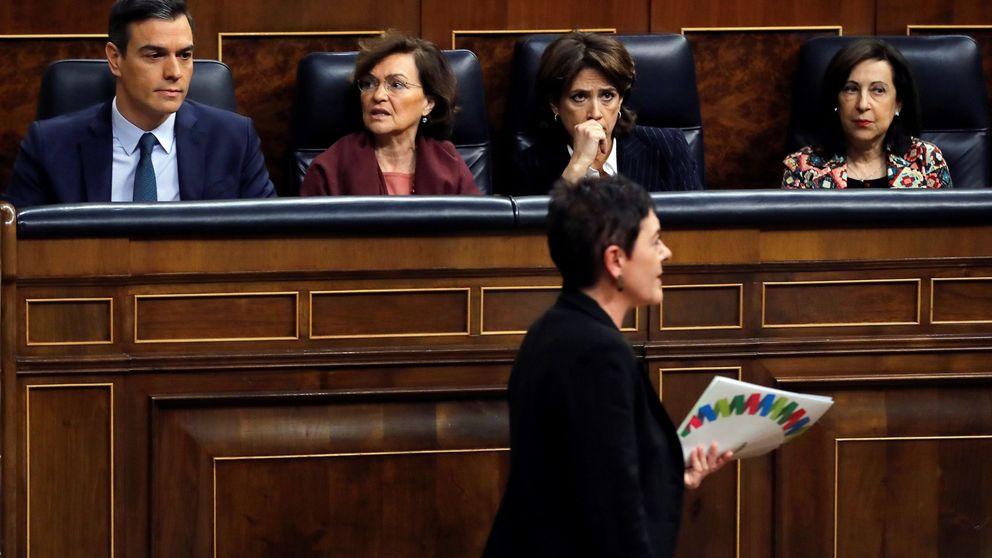 Un grupo reducido de ministros fuera del ala económica pactó con Bildu la reforma laboral
