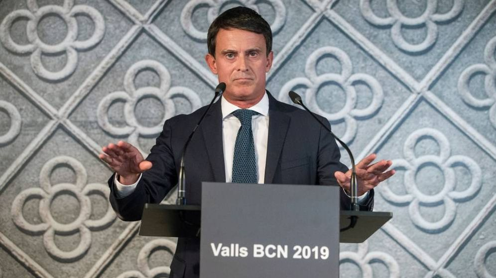 Foto: El exprimer ministro de Francia y candidato a la alcaldía de Barcelona, Manuel Valls. (EFE)