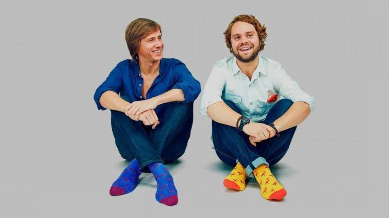 Felipe Cortina (izq), junto a Álvaro Gomis, su socio en Jimmy Lion. (Cortesía)