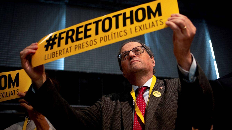 Torra visitará a los presos este fin de semana en Madrid ante el inminente juicio del 1-O