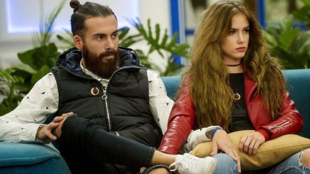 Foto: José María y Carlota, en 'GH Revolution'. (Mediaset España)