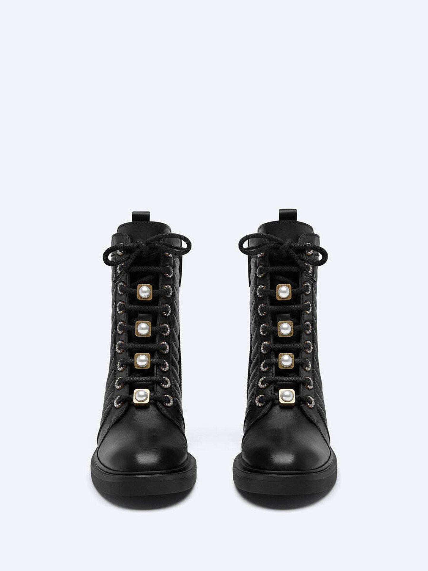 Las botas de Uterqüe. (Cortesía)