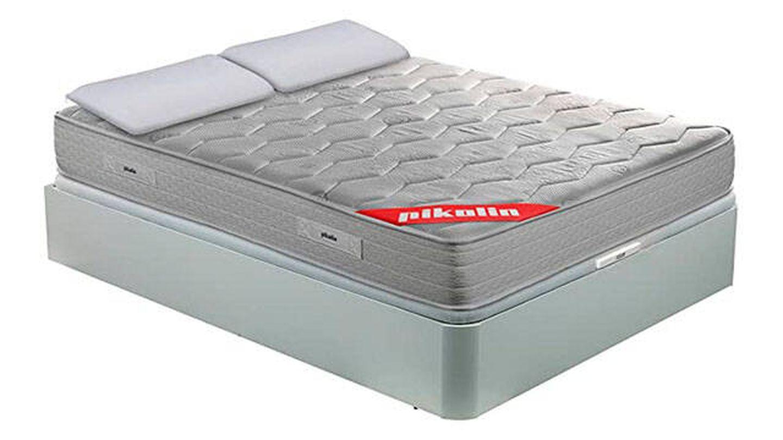 Colchón viscoelástico   canapé   almohadas de fibra de Pikolin
