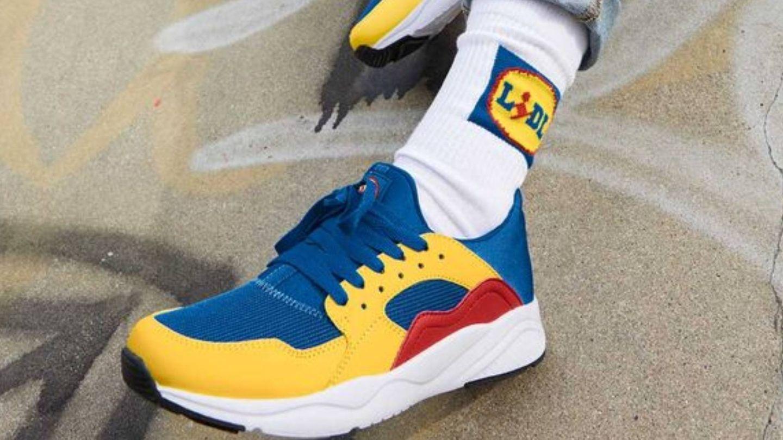 Las zapatillas de deporte de Lidl. (Cortesía)
