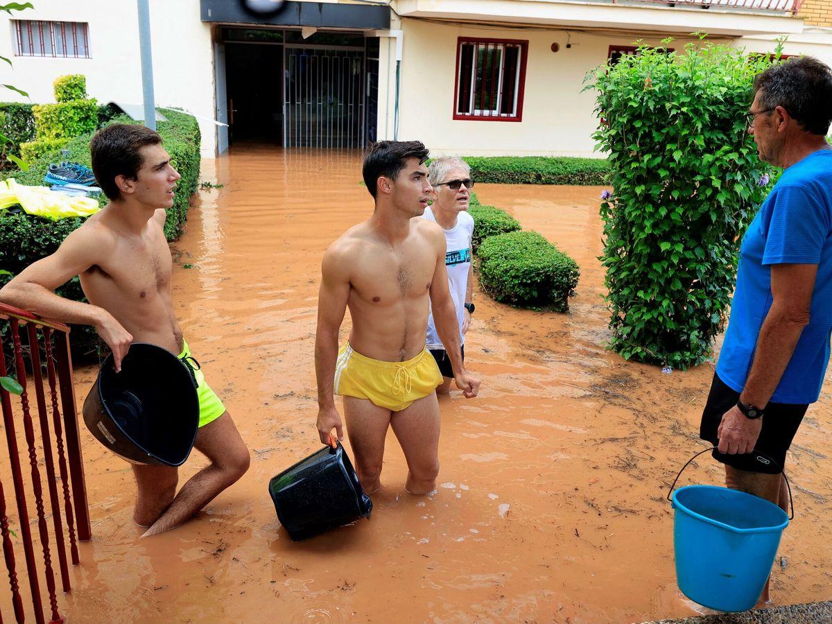 Foto: Inundaciones en Benicàssim (Castellón). (EFE)