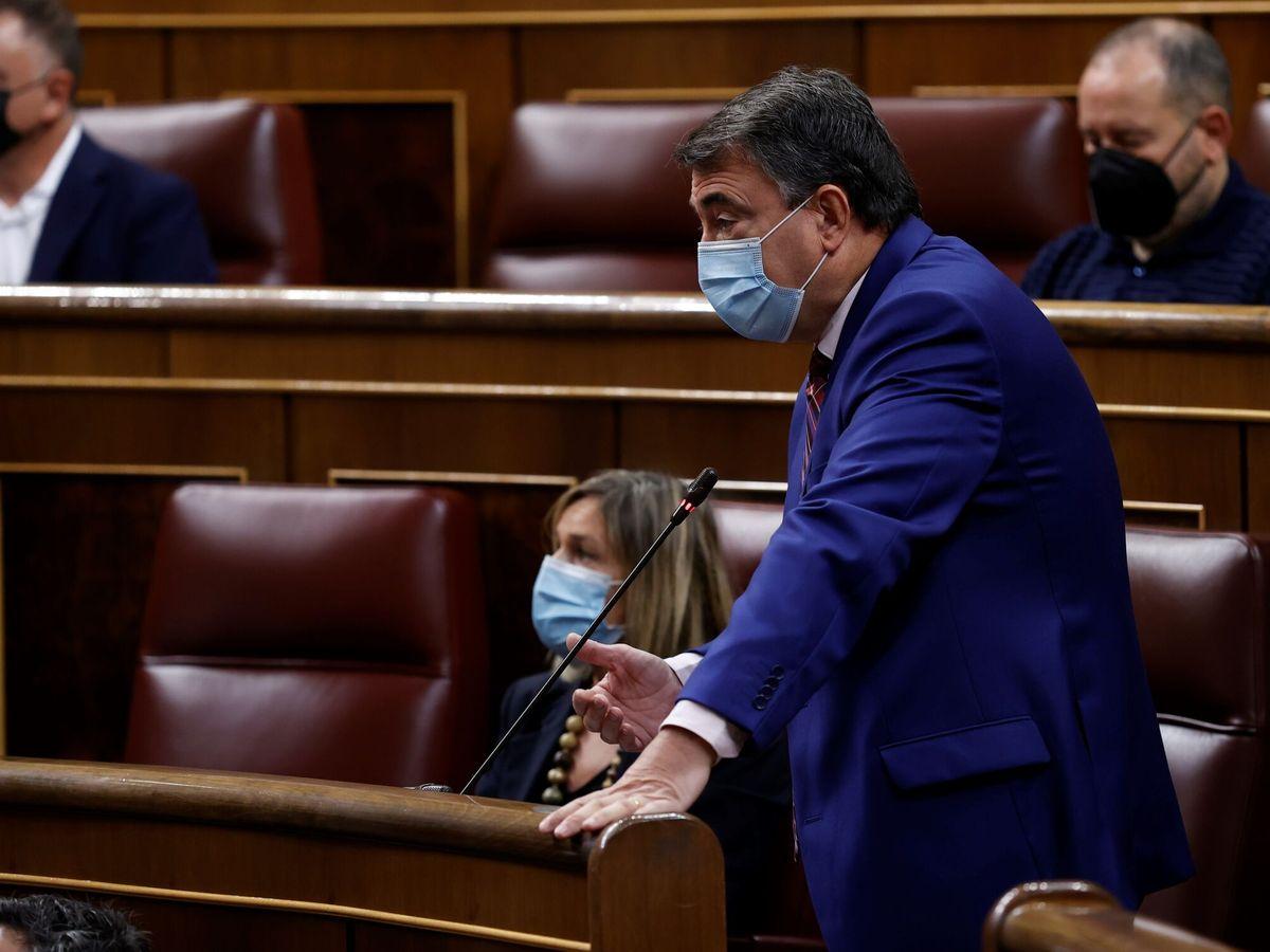 Foto: El portavoz del PNV, Aitor Esteban. (EFE)