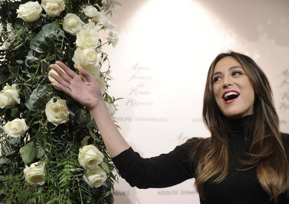 Foto: Tamara Falcó, durante la presentación de un perfume de Adolfo Domínguez en Madrid (I.C.)