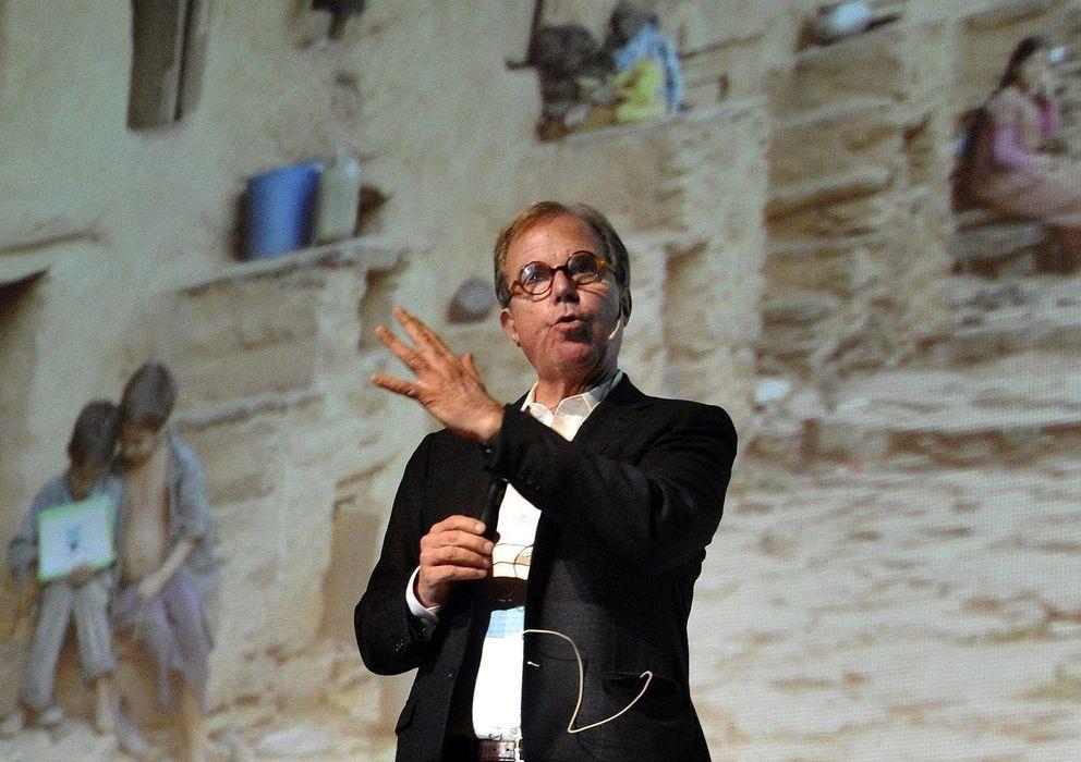 Foto: Negroponte durante una charla en Granada, en 2012. (Efe)