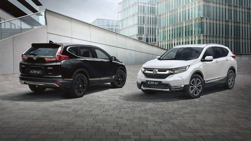 Foto: Nuevo Honda CR-V Sport Line caracterizado por sus acabados en color negro.