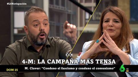 Maestre, a María Claver: Si me llamas comunista, yo te llamo fascista