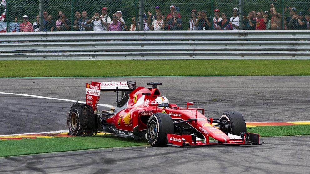 Pirelli se exculpa y tira la pelota al tejado de Ferrari, de Vettel y de Spa