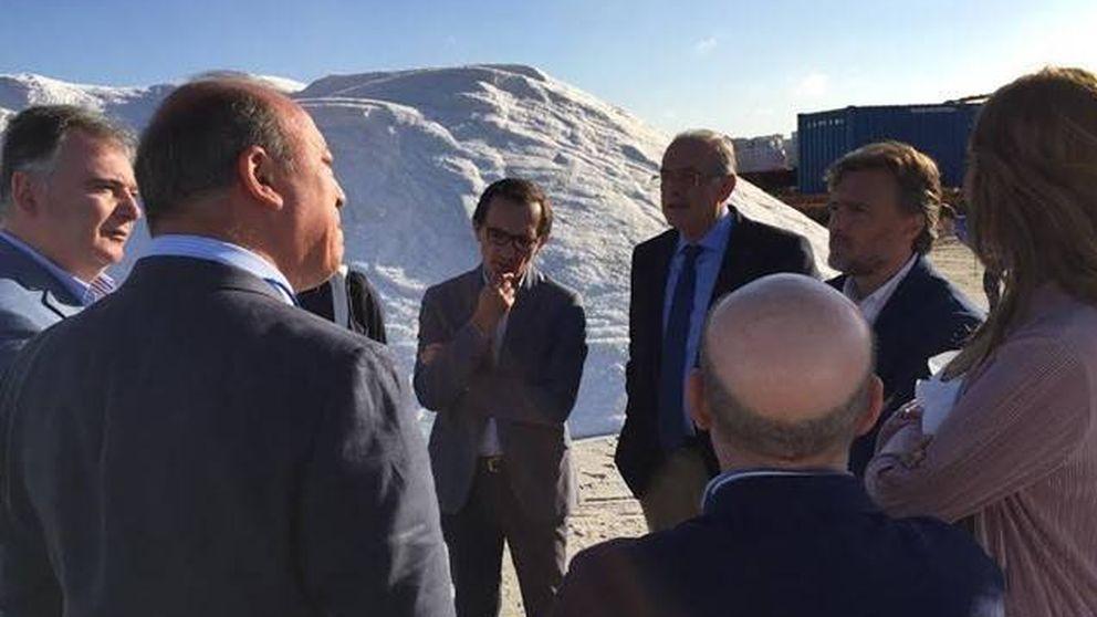 El gran salinero de Mercadona en Huelva crea un pequeño gigante del cloro