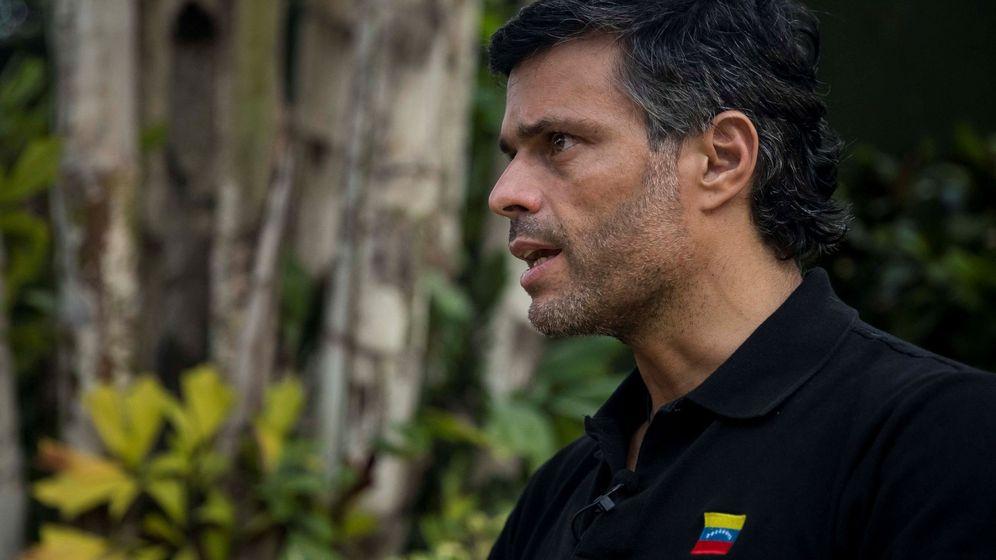 Foto: Leopoldo López, en entrevista con EFE