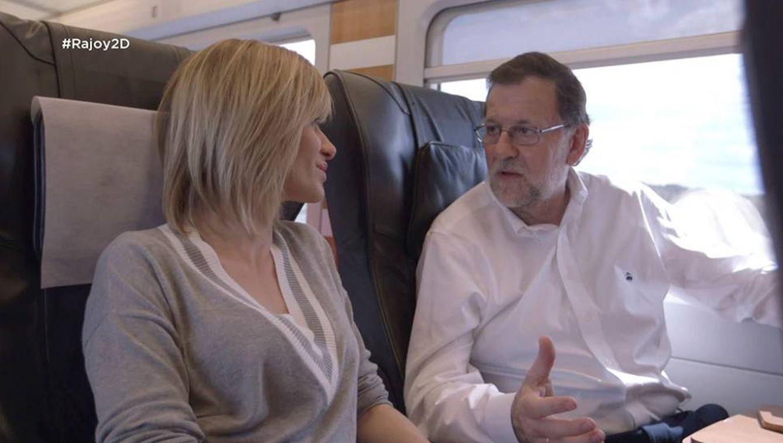 Mariano Rajoy no puede con el éxito de 'Supervivientes'