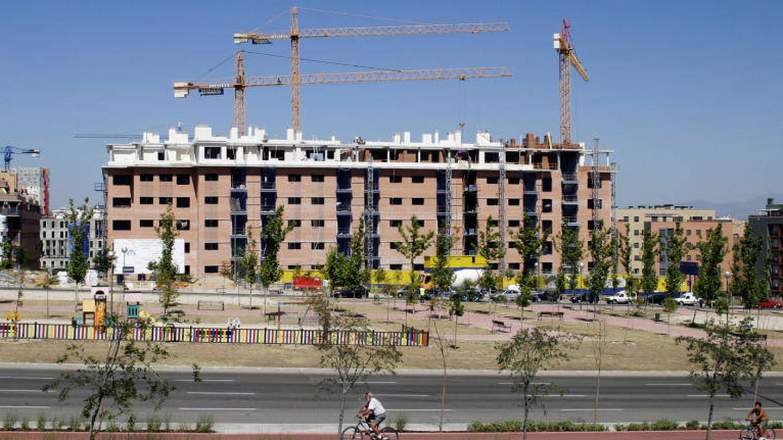 Una obra en Madrid. (EFE)