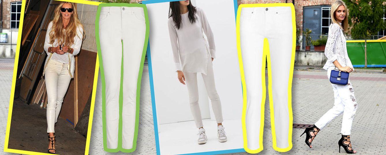 Vaqueros de verano: manual de instrucciones para llevar jeans blancos