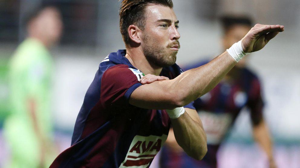 El vídeo de los jugadores del Eibar incendia Twitter con sus reacciones
