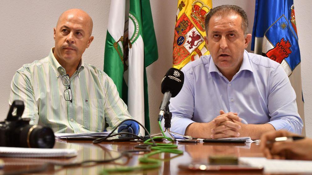Foto: Francisco Barrionuevo (d) y Antonio Inocencio López, ambos ediles de Vox. (EFE)