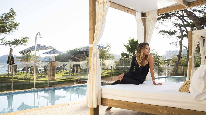 Foto: Alice Campello, en el hotel Secrets Mallorca Villamil. (Cortesía)