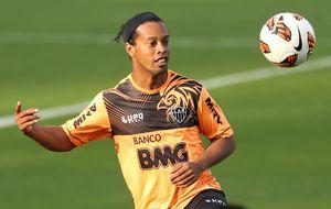 Un 'nuevo' Ronaldinho fija su objetivo en la lista de Scolari