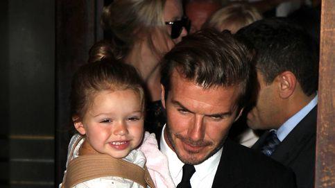 Los Beckham, conmocionados por el acoso a su hija Harper por su sobrepeso