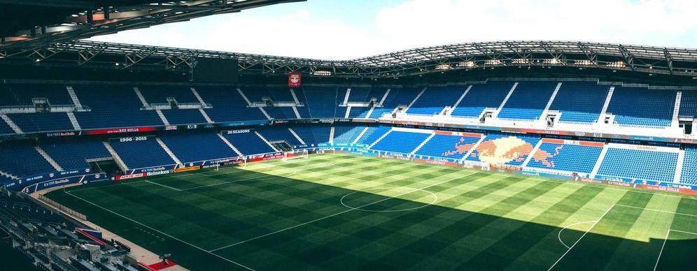 Foto: Panorámica del Red Bull Arena.