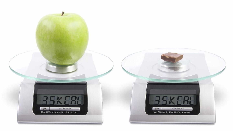 Es importante no desequilibrar el consumo de calorías