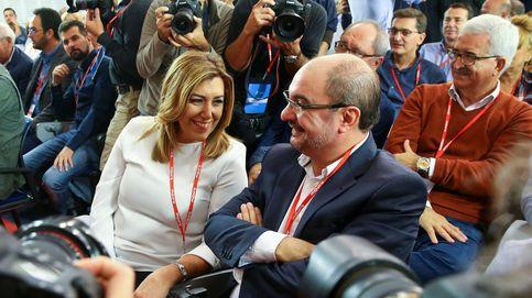 Los críticos amarran el comité y el PSOE cruza el Rubicón con Díaz de estandarte