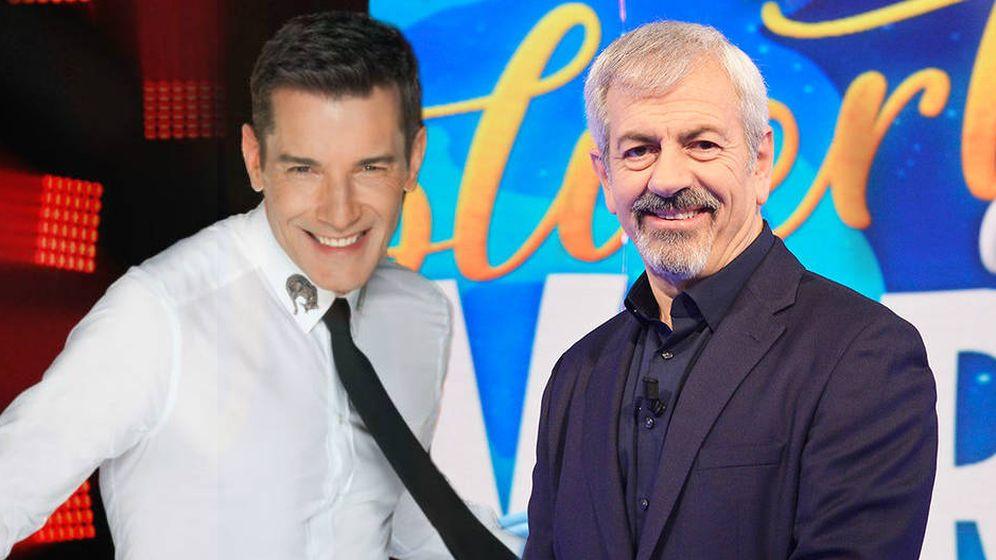 Foto: Los presentadores Jesús Vázquez y Carlos Sobera. (EL CONFI TV)