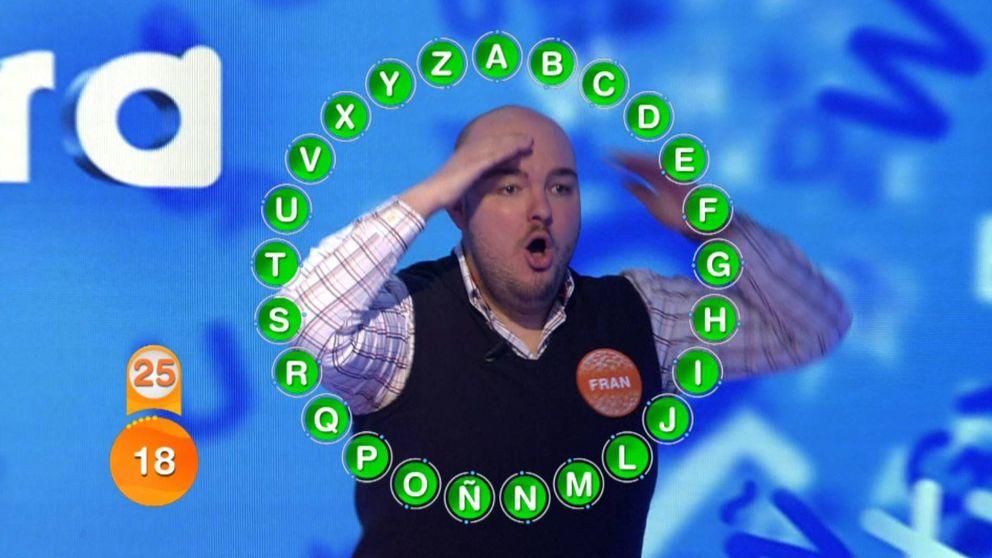 'Pasapalabra' | ¿Serías capaz de resolver el rosco millonario de Fran González?