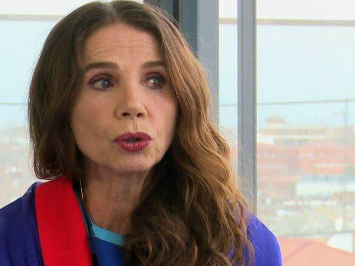 Foto: Victoria Abril, en 'La Sexta noche'. (Atresmedia Televisión)