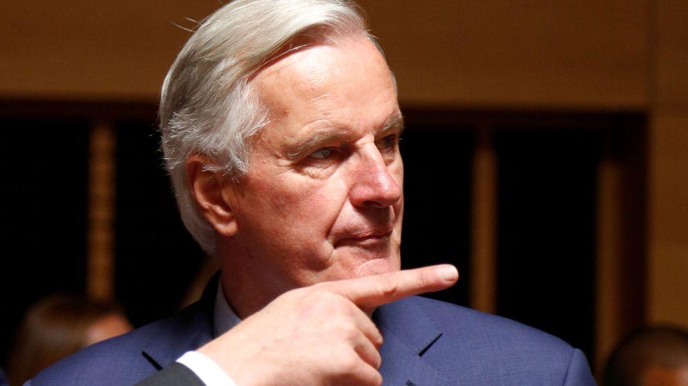 Foto: Michel Barnier en Luxemburgo. (Reuters)