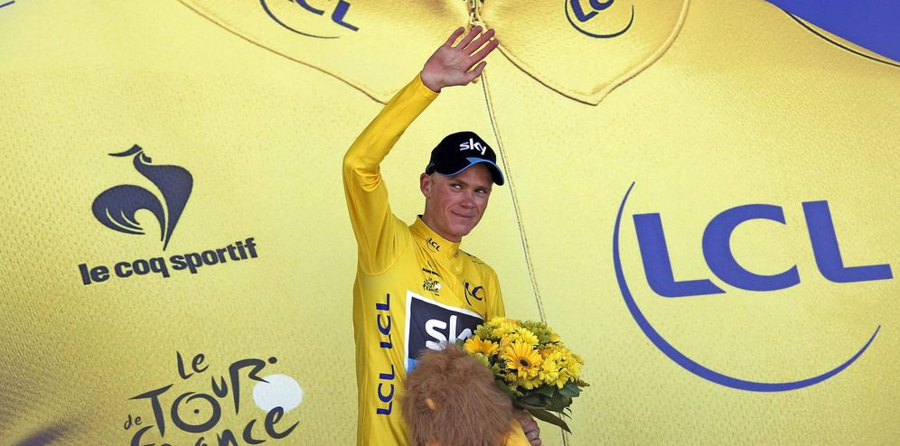 Foto: Froome fue muy superior a sus rivales (Reuters)