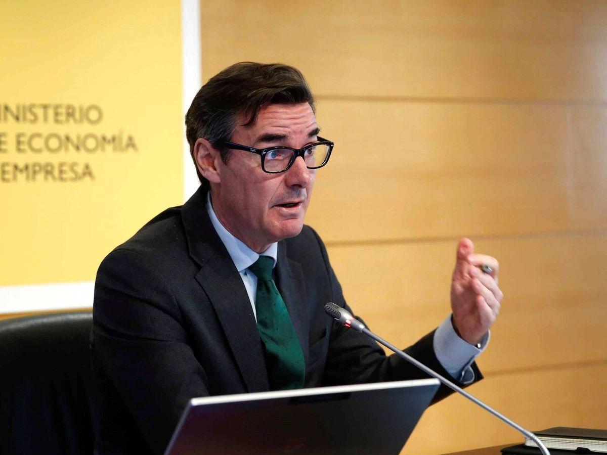 Foto:  El secretario general del Tesoro y Financiación Internacional, Carlos San Basilio,