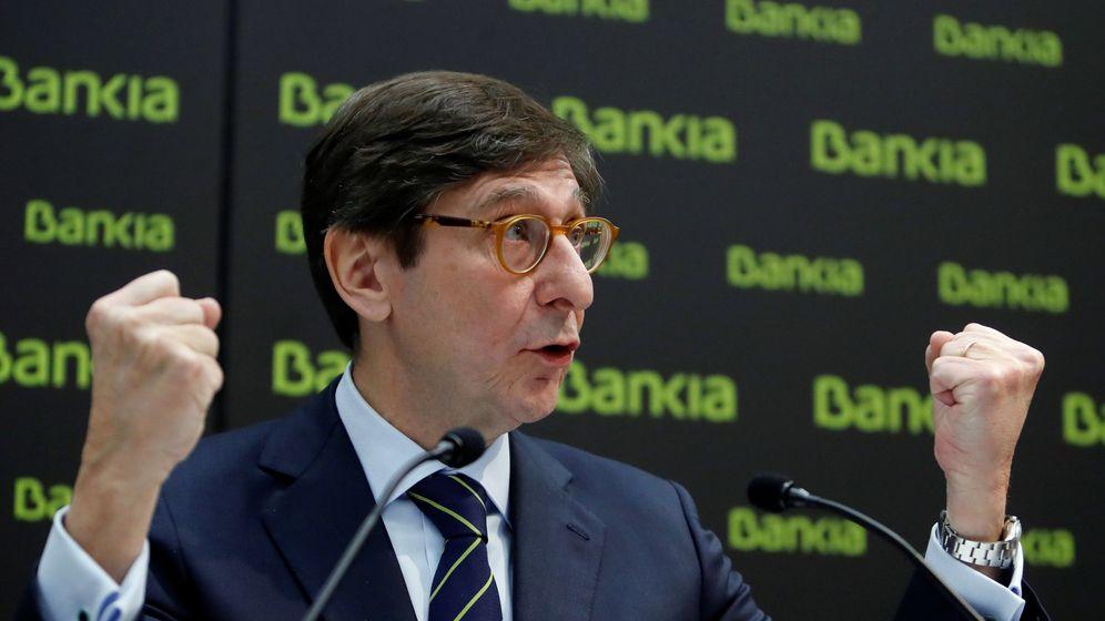 Foto: El presidente de Bankia, José Ignacio Goirigolzarri, en la presentación del plan 2018-2020. (EFE)