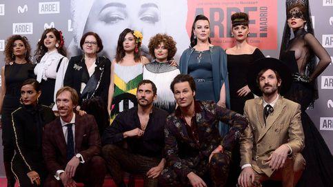 La première de 'Arde Madrid': toreros y flamencas de Whatsapp