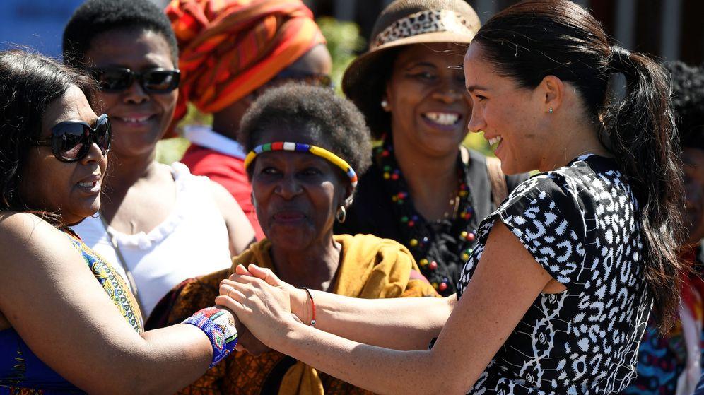 Foto: Meghan Markle, en Ciudad del Cabo. (Reuters)