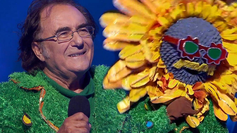 El coronavirus, la causa que ha permitido que Albano Carrisi sea Girasol en 'Mask Singer'