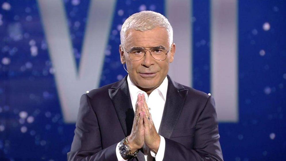 Foto: Jorge Javier Vázquez, en el estreno de 'GH VIP 7'. (Mediaset)