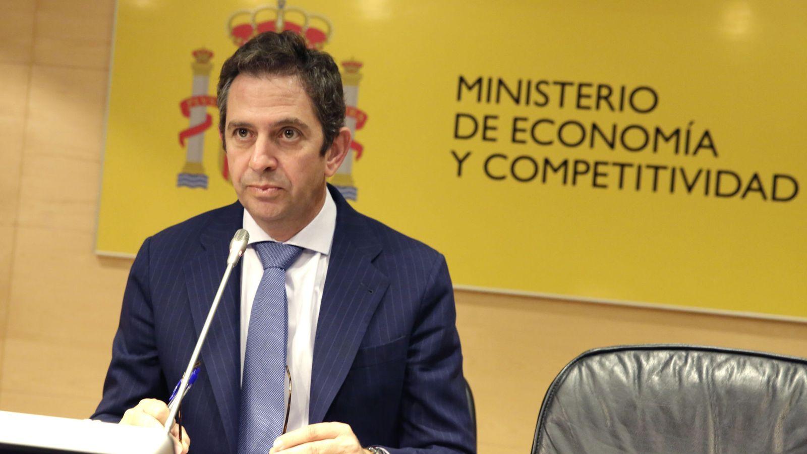 Foto: Íñigo Fernández de Mesa cuando era secretario de Estado. (Efe)