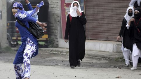 Disturbios entre estudiantes y policía en India