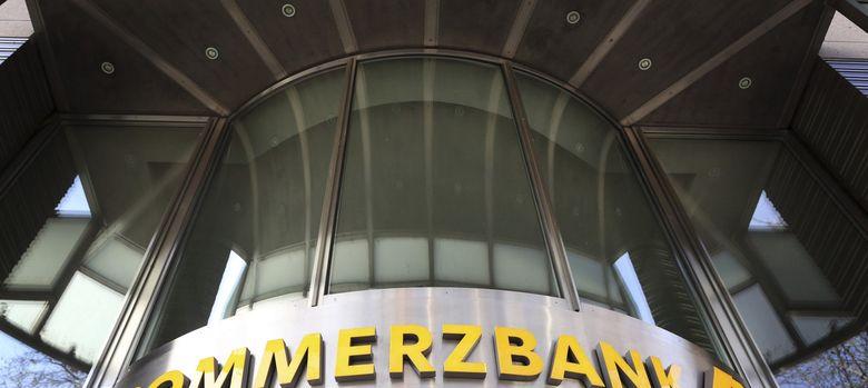 Foto: Vista de las oficinas del Commerzbank en Düsseldorf, Alemania. (EFE)