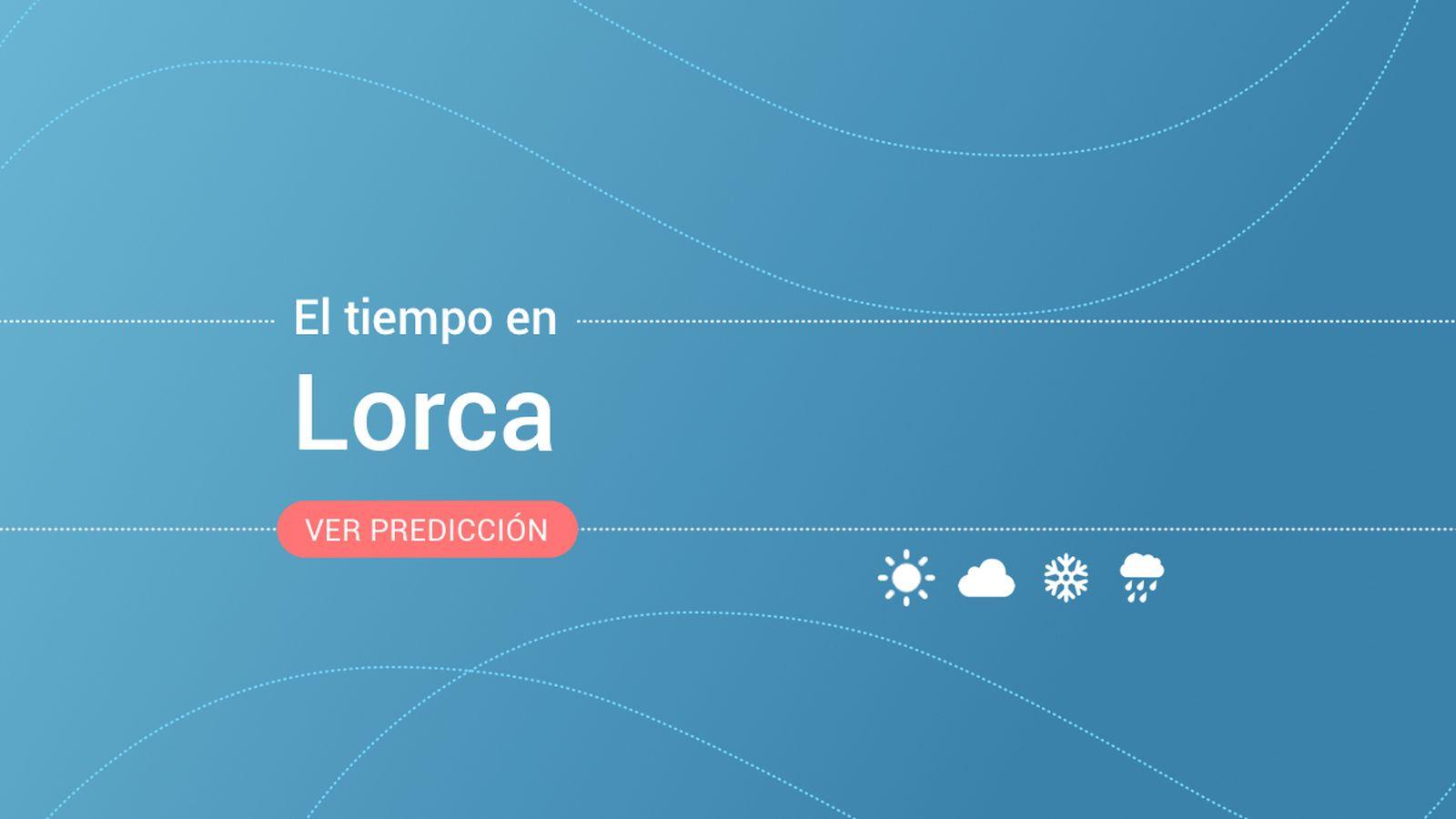 Foto: El tiempo en Lorca. (EC)
