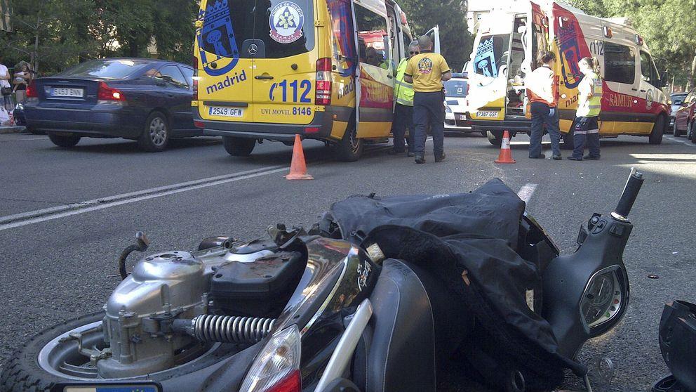 Un motorista fallece en un accidente en Majadahonda